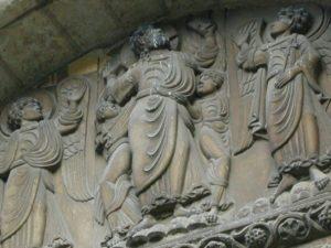 Toulouse / St.Sernin  南扉口のキリスト
