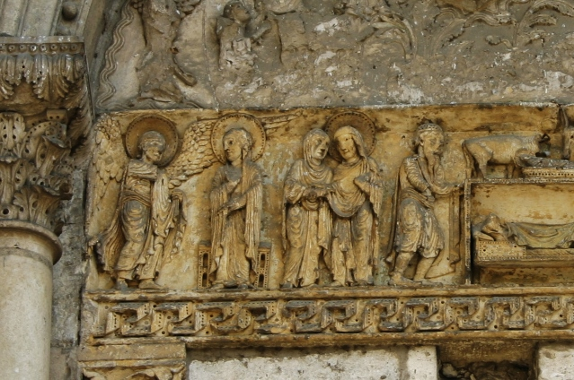 La Charite sur Loire 「受胎告知」