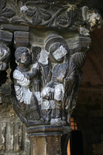 Arles 「受胎告知」