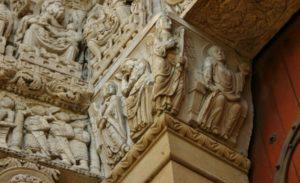 Saint-Trophime 「受胎告知」