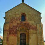 Montceaux l`Etoire 教会堂正面