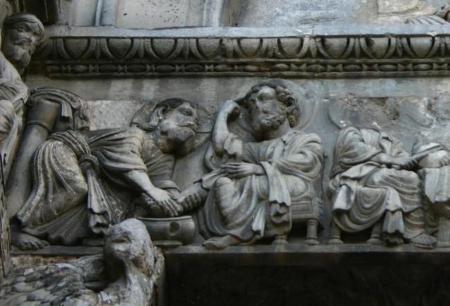 St.Gilles「弟子の足を洗う」