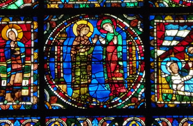 Chartres「御訪問」