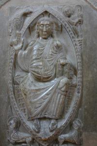 Toulouse / St.Sernin  内陣のキリスト像