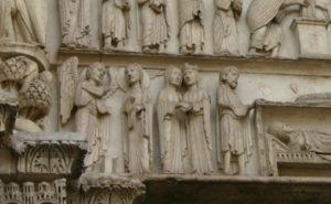 Chartres「受胎告知」