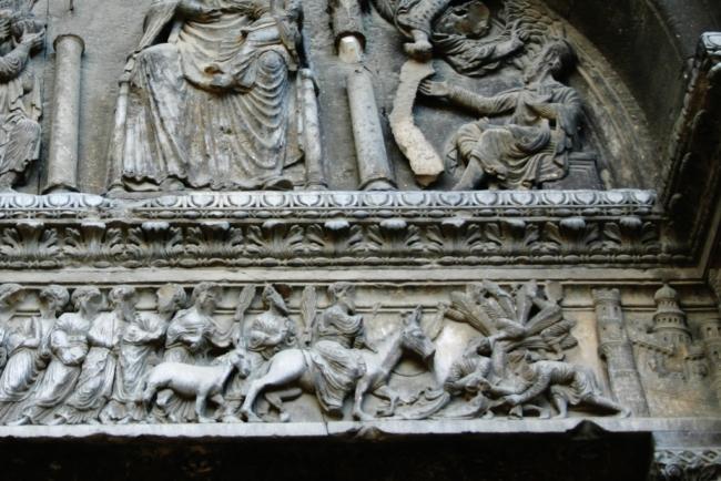 St.Gilles du Gard エルサレム入場