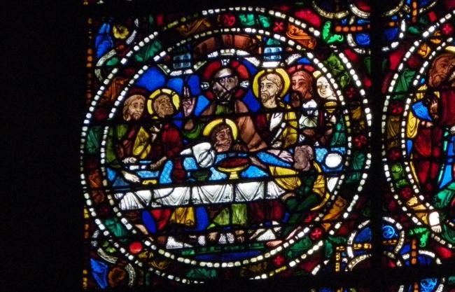Chartres「最後の晩餐」