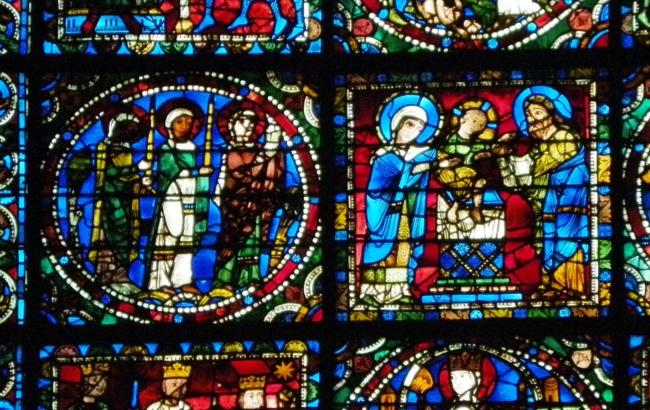 Chartres「神殿への奉献」