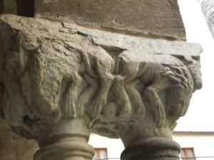 Cefalu 柱頭彫刻