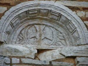 Poitiers / Baptistere St.Jean 壁面彫刻