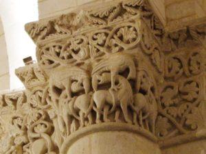 Saintes / St.Eutrope 柱頭彫刻