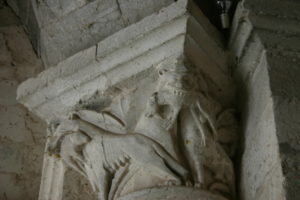 Moissac 柱頭彫刻