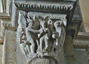 Vezelay 「聖ベネディクトの誘惑」