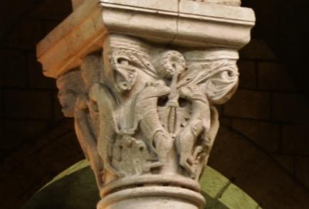 la Charite sur Loire 柱頭彫刻