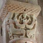 Bessuejouls 柱頭彫刻