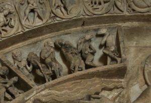 Vezelay 「犬頭人」