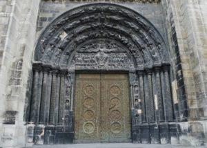 St.Denis 正面中央扉口