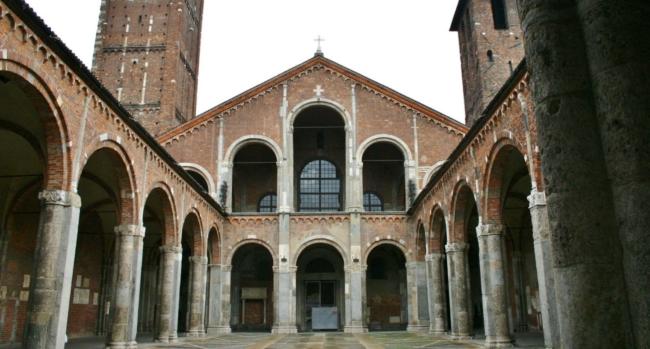 Italy  Milano  Sant'Ambrogio