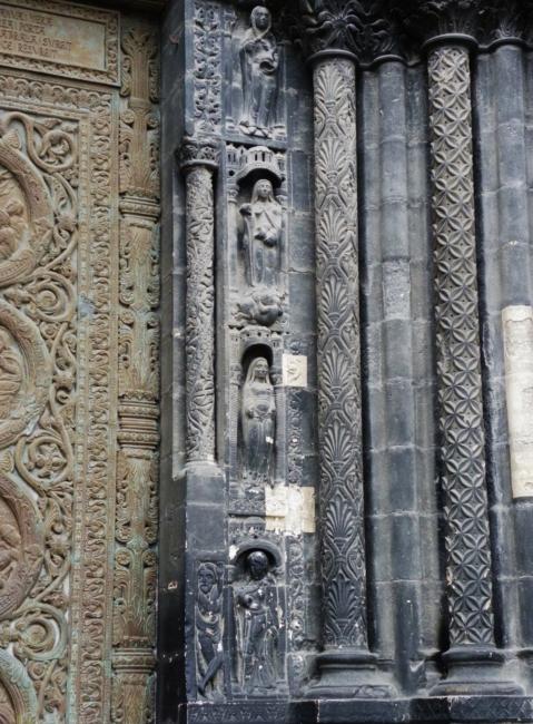 St.Denis 中央扉口彫刻