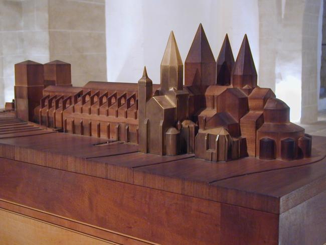 Cluny  大聖堂の模型