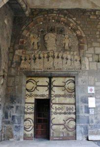 Le Puy / Cathedrale 扉口