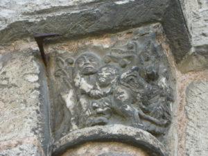 St.Martin de Boscherville 扉口彫刻