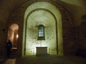 Le Mont St.Michel クリプト