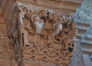 Autun 柱頭彫刻