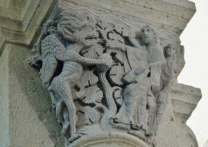 Saulieu 柱頭彫刻