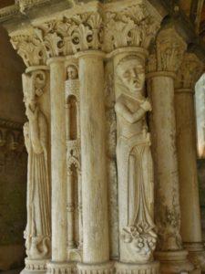 St.Martin de Boscherville 柱彫刻