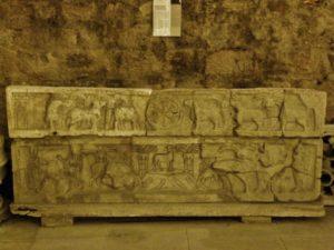 Marseill 石棺彫刻