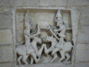 St.Martin de Boscherville 壁面彫刻