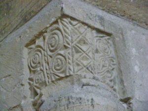 Maneglise 柱頭彫刻