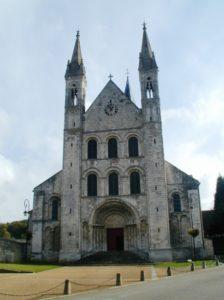 St.Martin de Boscherville 教会堂正面