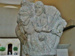 St.Pons de Thomieres 柱頭彫刻 12c中期