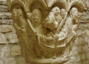 Musse de Cluny 柱頭彫刻