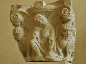 St.Denis 柱頭彫刻 12c初頭