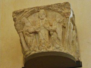 St.Denis 柱頭彫刻 12c中期