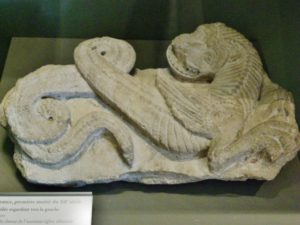 タンパン彫刻 12c前期