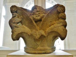 Alet 柱頭彫刻 12c後期