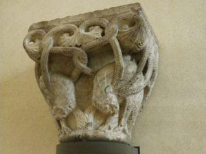 Toulouse 柱頭彫刻 12c中期