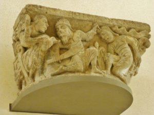 Parthenay 柱頭彫刻 12c中期