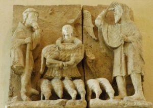 Parthenay 彫刻 12c後半