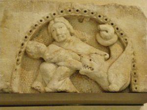 St.Denis タンパン彫刻 12c前期