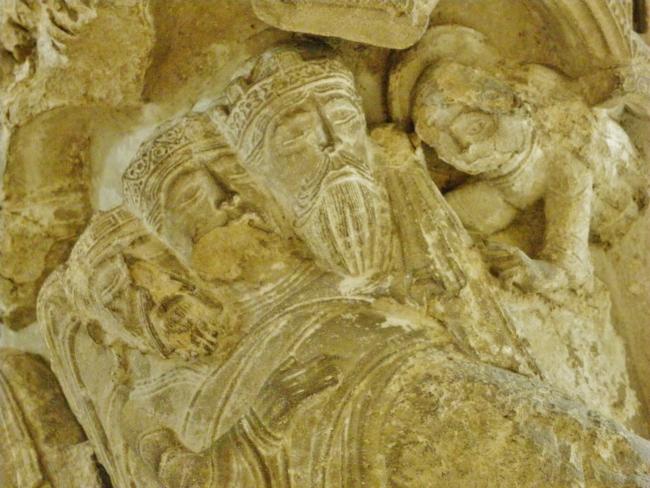 Paris / Musee du Louvre 柱頭彫刻
