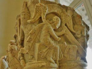 St.Pons de Thomieres 柱頭彫刻