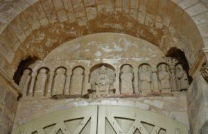 St.Benoit sur Loire 彫刻