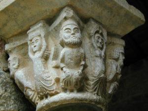 Canigou 柱頭彫刻