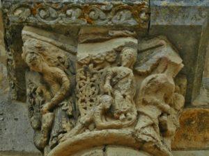 St.Benoit sur Loire 柱頭彫刻