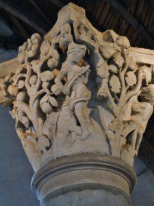 Cluny 柱頭彫刻